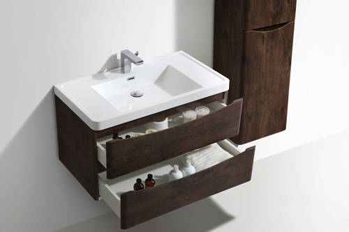 Additional image for Bali Bathroom Furniture Pack 08 (Chestnut).