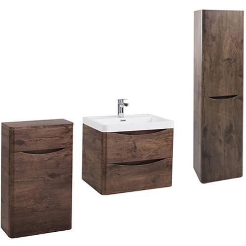 Additional Image For Bali Bathroom Furniture Pack 11 Chestnut