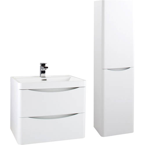 Additional image for Bali Bathroom Furniture Pack 03 (Gloss White).