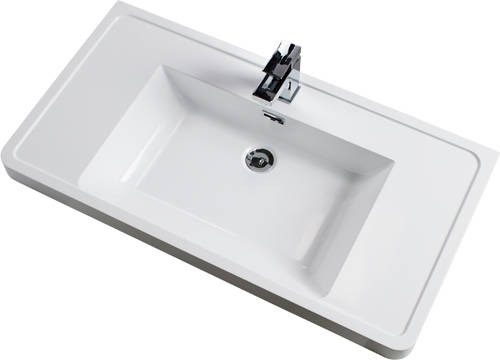 Additional image for Bali Bathroom Furniture Pack 12 (Gloss White).
