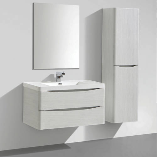 Additional image for Bali Bathroom Furniture Pack 01 (White Ash).
