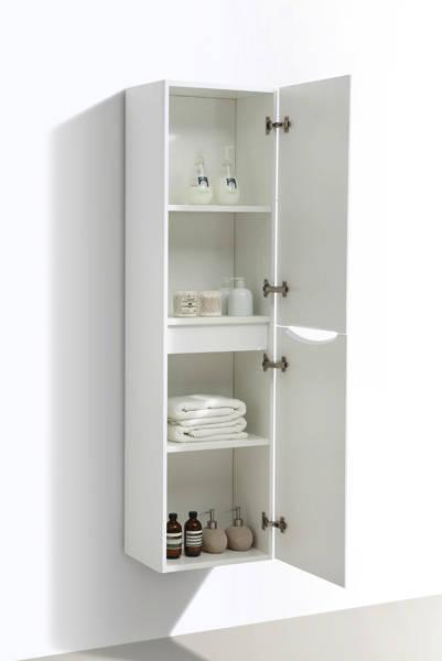 Additional image for Bali Bathroom Furniture Pack 03 (White Ash).