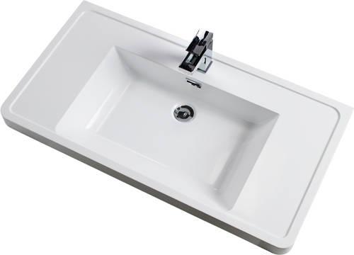Additional image for Bali Bathroom Furniture Pack 05 (White Ash).
