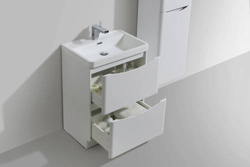 Additional image for Bali Bathroom Furniture Pack 06 (White Ash).