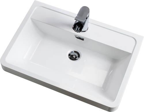 Additional image for Bali Bathroom Furniture Pack 10 (White Ash).