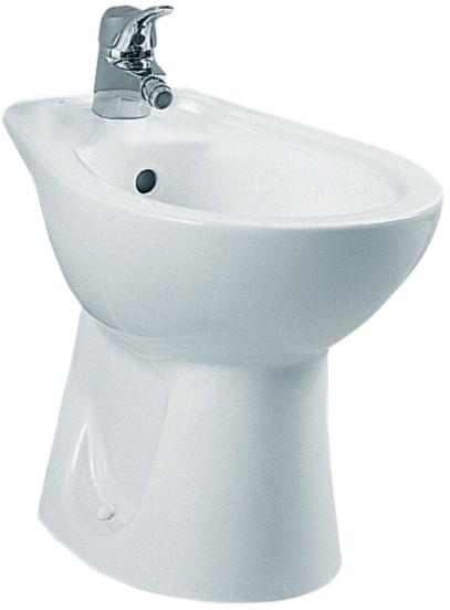 Additional image for Bidet. Horizontal Outlet (1 Tap Hole).  Size 235x545mm.