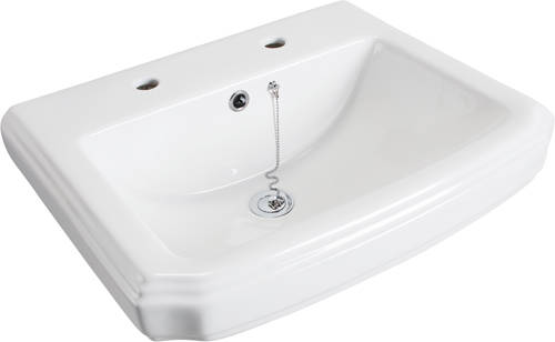 Additional image for Cromford Traditional Bathroom Suite With 2 Tap Hole Basin.