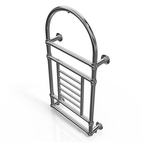 Additional image for Traditional Wall Mounted Towel Radiator 1000x535mm (Chrome).