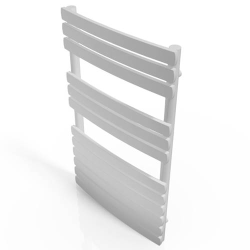 Additional image for Orchid Towel Radiator 800x500mm (White).