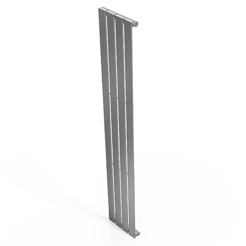 Additional image for Motif Vertical Flat Panel Radiator 1800x300mm (Chrome).