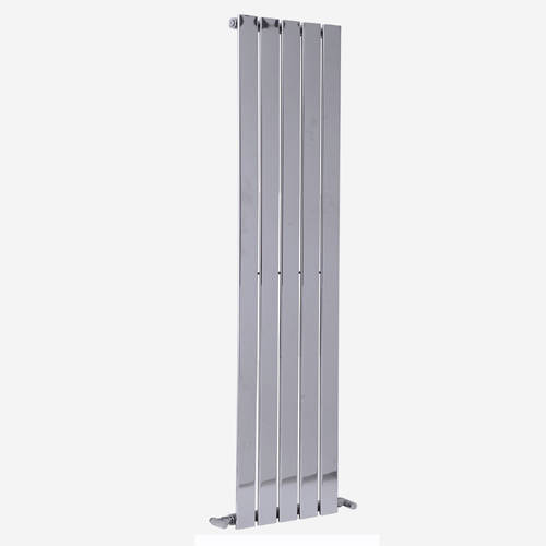 Additional image for Motif Vertical Flat Panel Radiator 1800x376mm (Chrome).