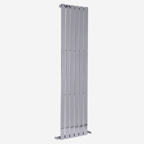 Additional image for Motif Vertical Flat Panel Radiator 1800x452mm (Chrome).