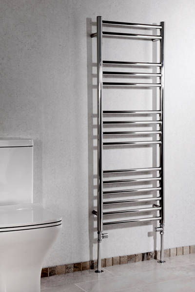 Additional image for Luxe Towel Radiator 1200x450mm (Stainless Steel).