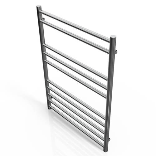 Additional image for Luxe Towel Radiator 800x600mm (Stainless Steel).