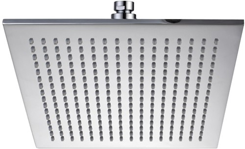 Large Square Shower Head 300x300mm Hydra Showers Hi Head05
