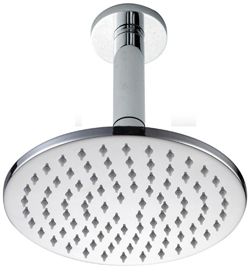 Additional image for Round Shower Head With Ceiling Mounting Arm (200mm).