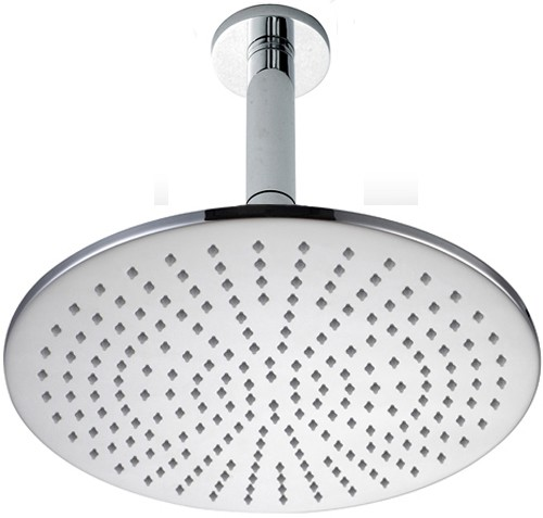 Additional image for 300mm Large Round Shower Head & Ceiling Mounting Arm.