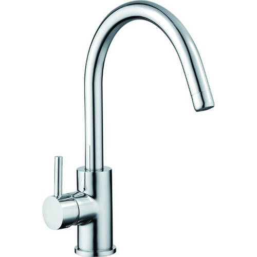 Additional image for Chloe Kitchen Tap With Swivel Spout (Chrome).
