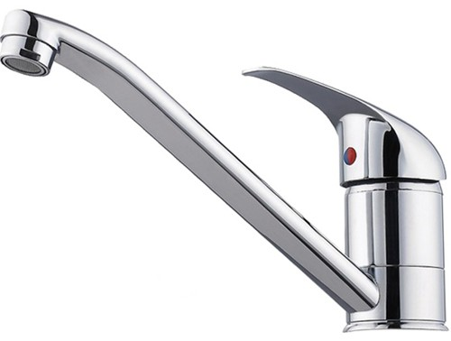 Additional image for Kitchen tap with swivel spout and single lever handle.