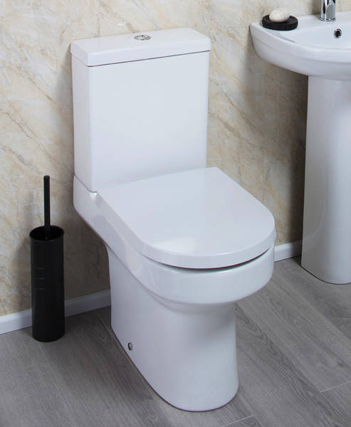 Additional image for Montego Comfort Height Toilet With Cistern & Seat (WRAS approved).