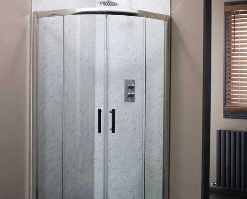 Additional image for En Suite Bathroom Pack With 900mm Shower Enclosure & 6mm Glass.