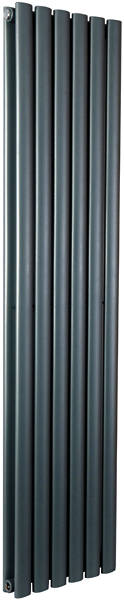 Additional image for Celsius Double Panel Vertical Radiator 1800x354mm (Anthracite).