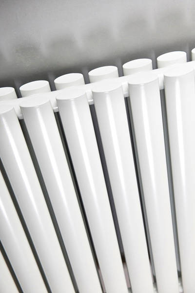 Additional image for Celsius Double Panel Vertical Radiator 1800x236mm (White).