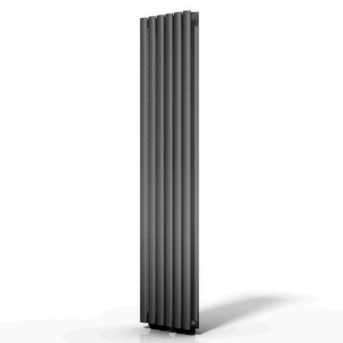Additional image for Celsius Double Panel Vertical Radiator 1500x354mm (Anthracite).