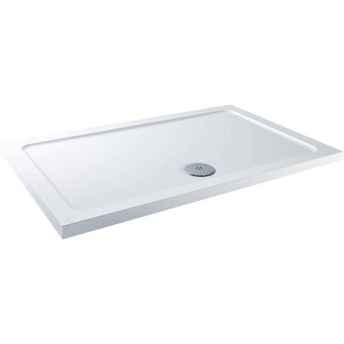 Additional image for Rectangular Stone Resin Shower Tray & Waste 1700x800mm (LP).