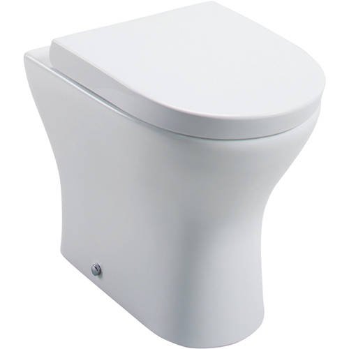 Additional image for Spek Back To Wall Toilet Pan & Wrapover Seat.