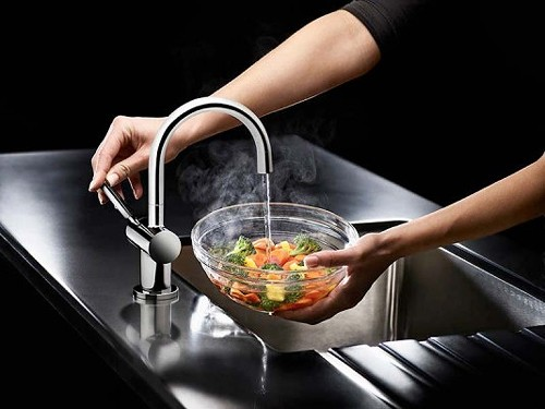Additional image for Steaming Hot Filtered Kitchen Tap (Chrome).
