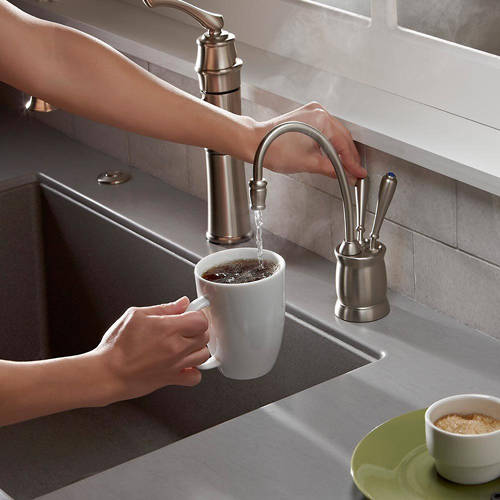 Additional image for Boiling Hot & Cold Filtered Kitchen Tap (Brushed Steel).