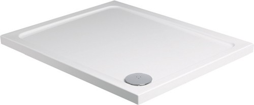 Additional image for Slimline Rectangular Shower Tray. 1200x900x40mm.