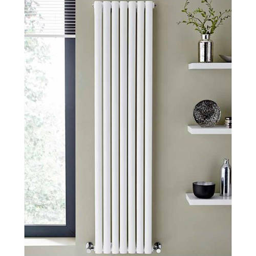 Additional image for Aspen Radiator 420W x 1600H mm (Double, White).