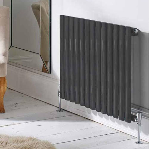 Additional image for Aspen Radiator 360W x 600H mm (Single, Anthracite).