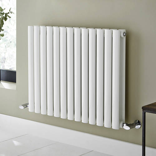Additional image for Aspen Radiator 540W x 600H mm (Double, White).