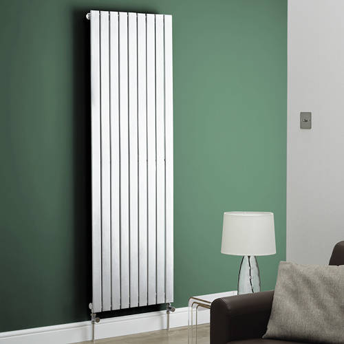 Additional image for Boston Vertical Radiator 550W x 1200H mm (White).