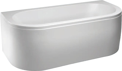 Additional image for Delta Freestanding Bath With Panel. 1700x800mm.