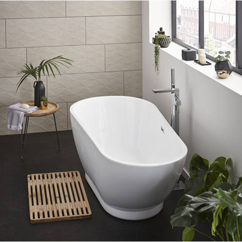 Additional image for Esposito Freestanding Bath With Waste. 1690x810mm.