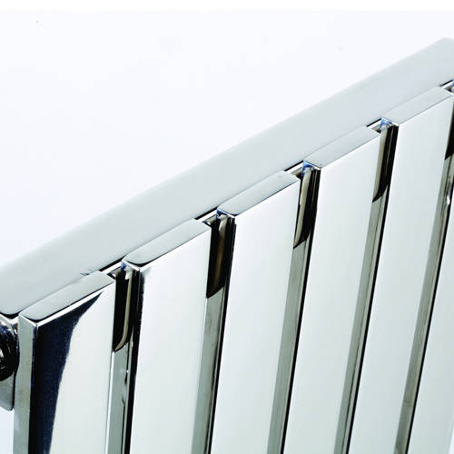 Additional image for Florida Vertical Radiator 490W x 1200H mm (Stainless Steel).