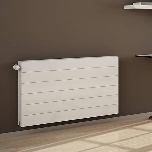 Additional image for Premium Komp Horizontal Radiator 600x400mm (DC, White).