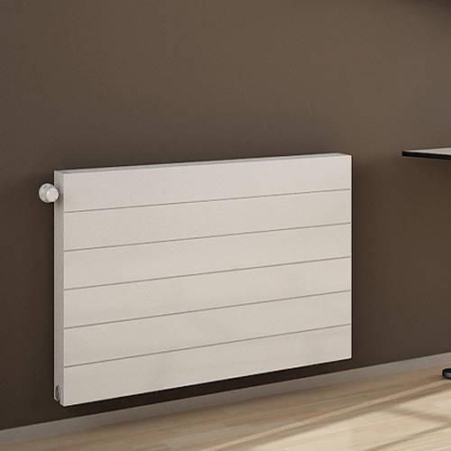 Additional image for Premium Komp Horizontal Radiator 1400x500mm (DC, White).