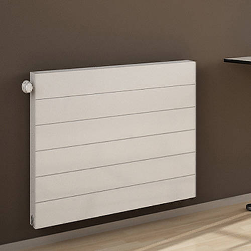 Additional image for Premium Komp Horizontal Radiator 1400x600mm (DC, White).