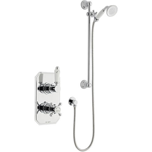 Additional image for Shower Valve With Slide Rail Kit (Option 1).