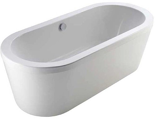 Additional image for Vision Freestanding Bath With Full Panel. 1700x800mm.