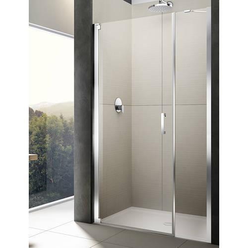 Diletto Pivot Shower Door Amp In Line Panel 1600x2000mm Lh