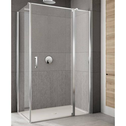 Additional image for Rilassa Shower Enclosure (1100x1000x2000mm, RH).