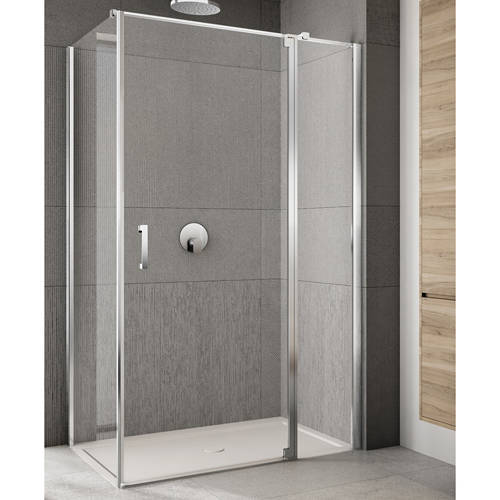 Additional image for Rilassa Shower Enclosure (1200x900x2000mm, RH).