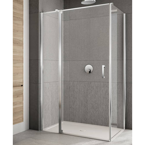 Additional image for Rilassa Shower Enclosure (1400x1000x2000mm, LH).