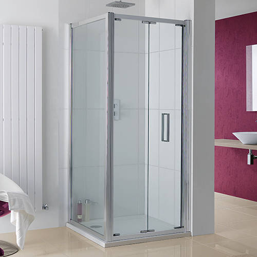 Additional image for Bergen Shower Enclosure With Bi-Fold Door (750x700x2000).